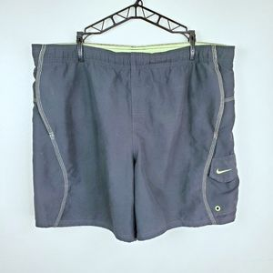 Nike | Green & Black Dri-Fit Running Shorts